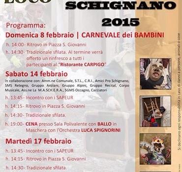Carnevale di Schignano 2015