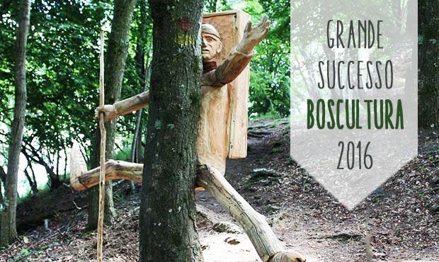 Boscultura: inaugurato il nuovo tratto del percorso con De Sfroos e il consigliere Maroni