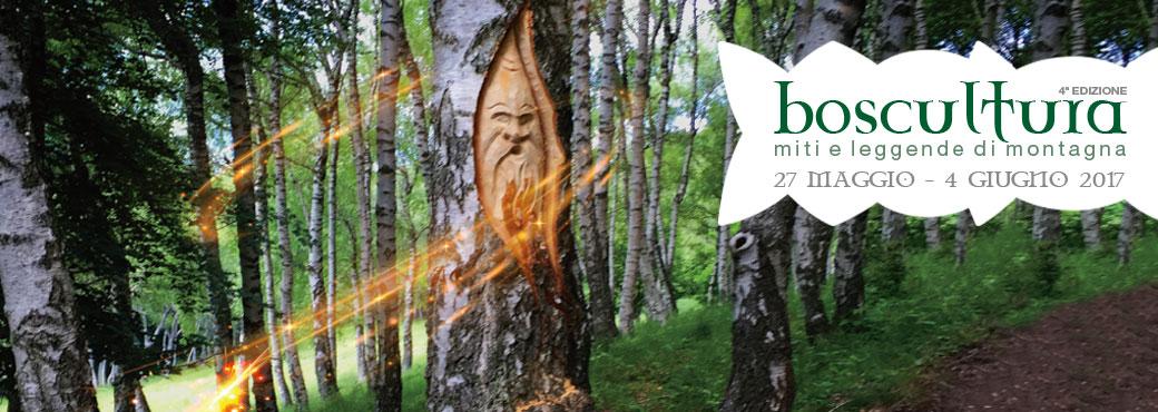 Al via la quarta edizione di Boscultura, Miti e Leggende di Montagna