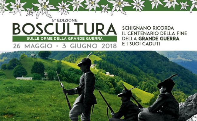 Al via la 5a edizione di BOSCULTURA dal 26 maggio al 3 giugno 2018