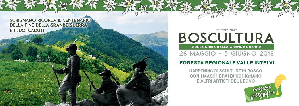 Boscultura – da 26 maggio a 3 giugno 2018