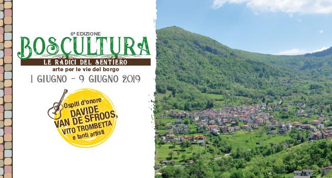 Boscultura 2019 – Le radici del sentiero dal 1 al 9 giugno Schignano